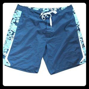 2 for $25 Hobie Board Shorts Size 38 Teal Hawaiian